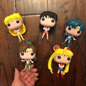 Sailor Moon Funko Pop Lot of 5